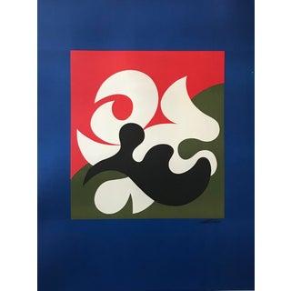 Original Vintage 1960s Vittorio Fiorucci Poster, Joeltex For Sale