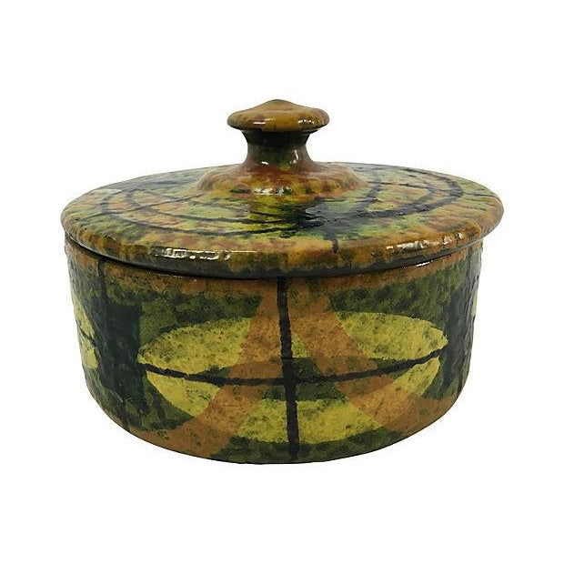 Mid-Century Italian Ceramic Lidded Box - Image 2 of 5