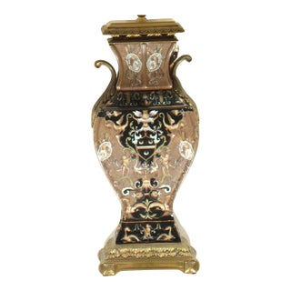 Pasargad Ny Porcelain Table Lamp For Sale