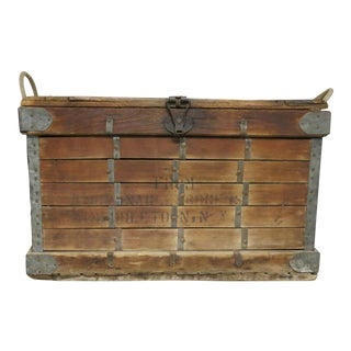 Antique McMonagle and Rogers Bakery Factory Box For Sale