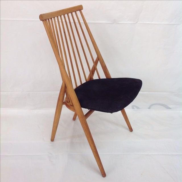 Danish Modern Nässjö Stolfabrik Flamingo Chair by Thea Leonard For Sale - Image 3 of 6