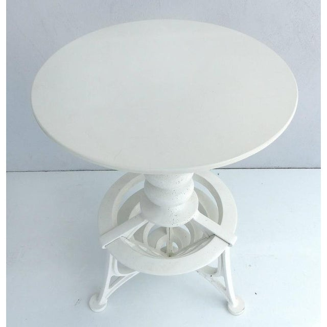 Early 20th Century 20th Century Industrial Cast Iron Interchangeable Stools to Tables For Sale - Image 5 of 10