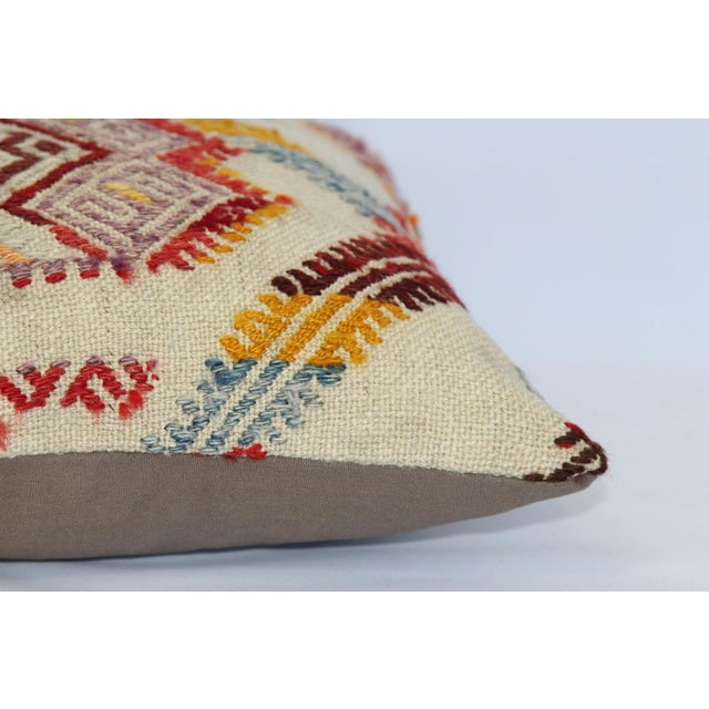 Turkish Handmade Kilim Pillow Cover - Image 11 of 11