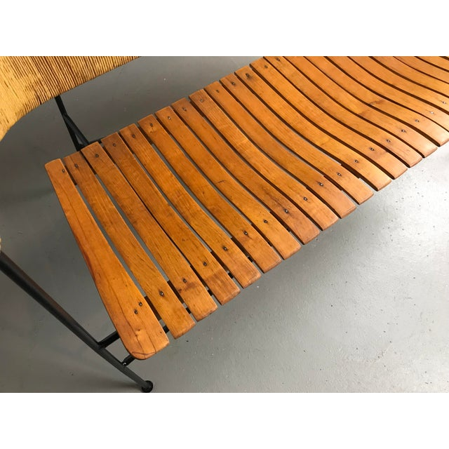 Modernist Settee by Arthur Umanoff for Shaver Howard & Raymor Loveseat Bench Sofa Couch For Sale In Boston - Image 6 of 13