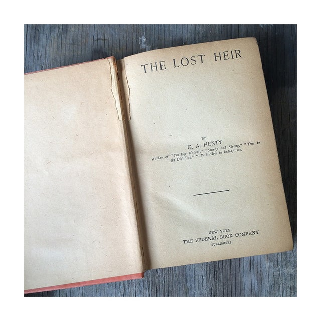 1900's Adventure Novels by G.A. Henty - Pair - Image 6 of 7