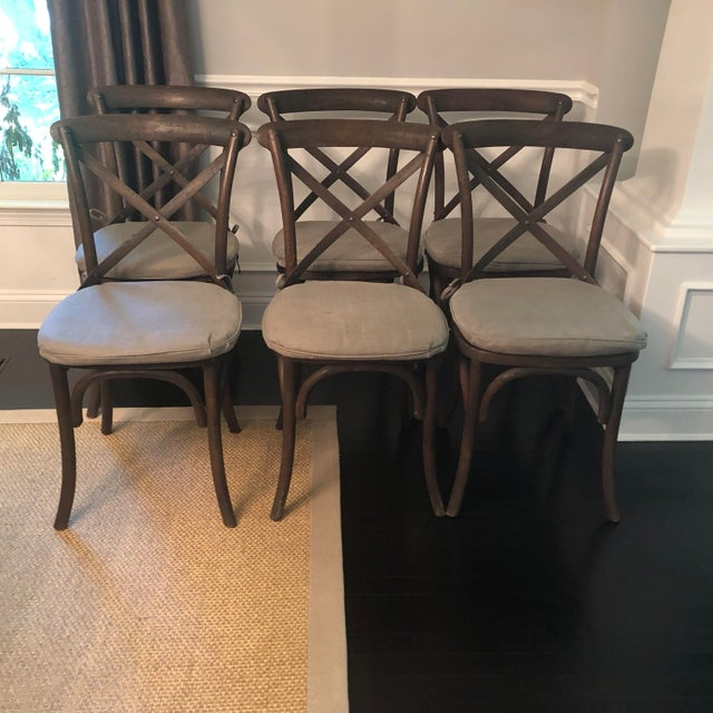 Thonet Styled Restoration Hardware Dining Chairs-Set of 6 For Sale - Image 13 of 13