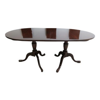 Kittinger Richmond Hill Collection Mahogany Dining Room Banquet Conference Table