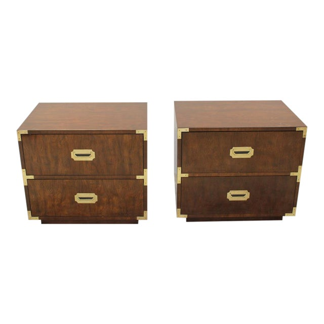 Mid Century Modern end tables/nightstands - a Pair - Image 1 of 11