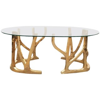 Brass Coffee Table, Galaxy, Misaya For Sale