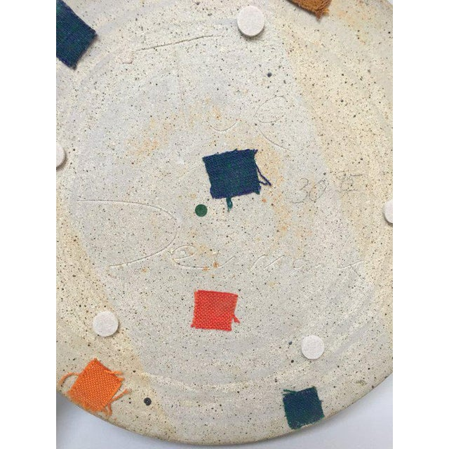 Tue Poulsen Danish Modern Large Stoneware Studio Pottery Tray For Sale In New York - Image 6 of 10