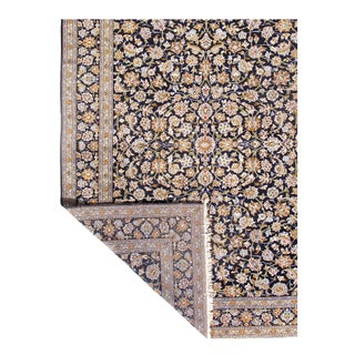 Pasagad Semi-Antique Kashan Hand-Knotted Rug - 10′ × 14′ Preview