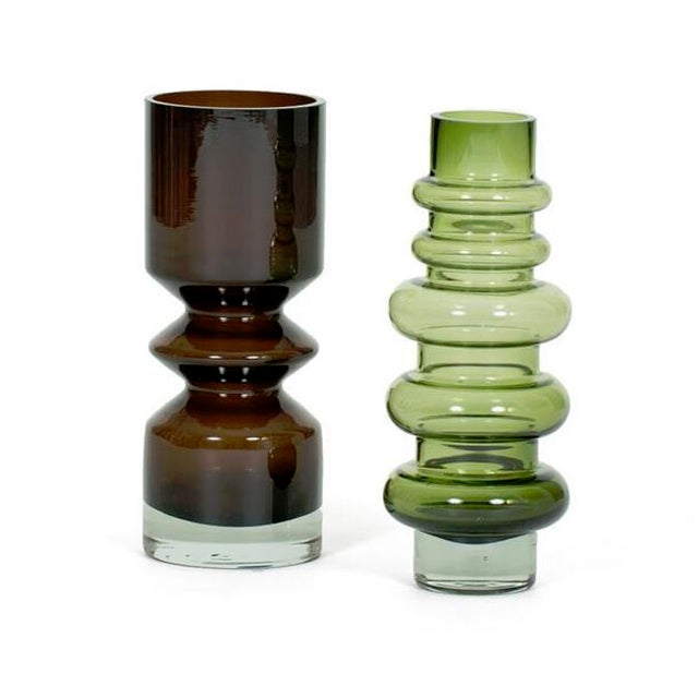1960s Pair of Tamara Aladin Vases For Sale - Image 5 of 5