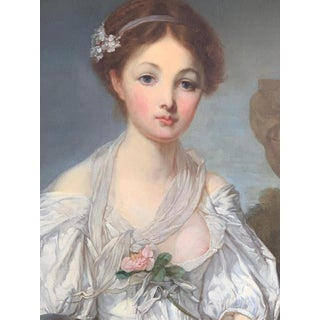 19th Century French Painting D'après Jean-Baptiste Greuze, the Broken Pitcher Preview