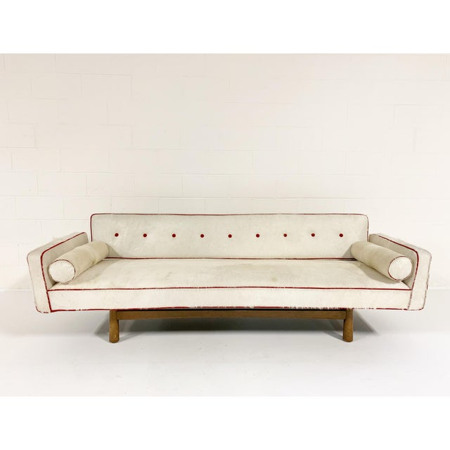 Mid-Century Modern Vintage Edward Wormley for Dunbar Model 5316 Sofa, Restored in Brazilian Cowhide For Sale - Image 3 of 11