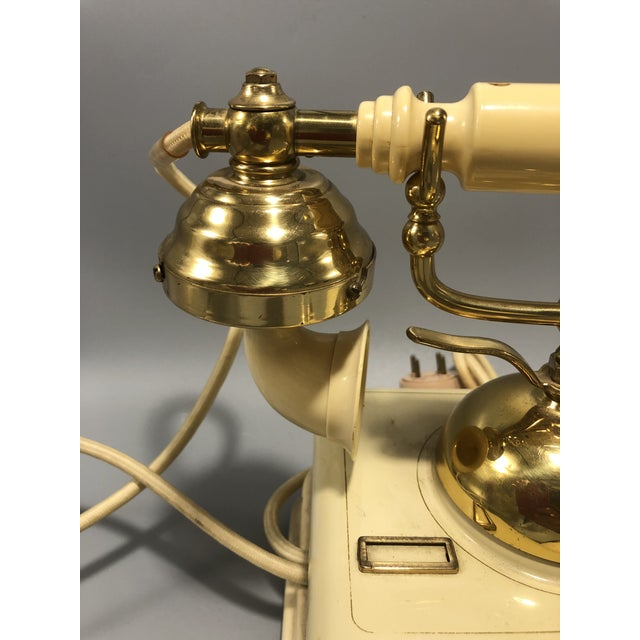 1970s Mid-Century Electric Dial Phone 1950s Circa For Sale - Image 5 of 8