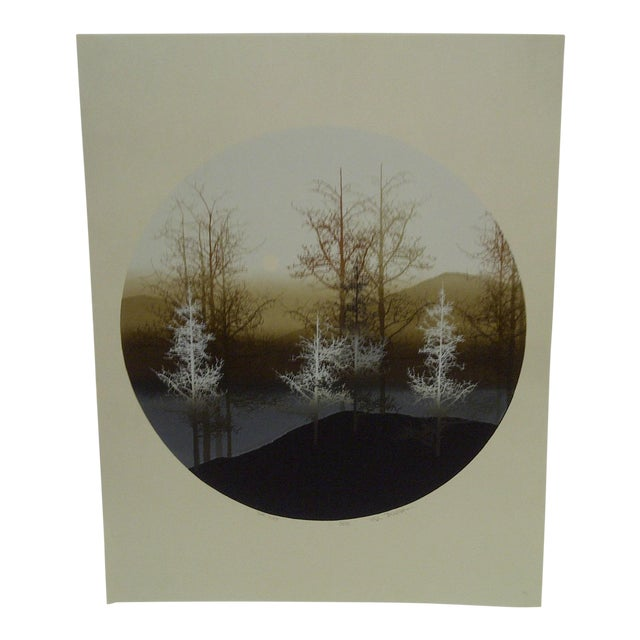 "Virgil Thrasher ""Tree Slope"" Limited Edition Print For Sale"