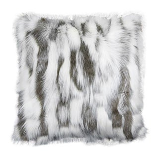 "Piper Collection Faux Fur ""Misha"" Pillow Preview"