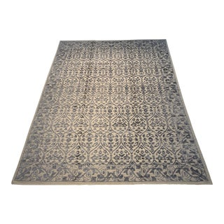 Contemporary Bamboo Silk Rug - 11′6″ × 14′2″ For Sale