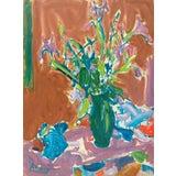 Image of Victor DI Gesu Still Life of Irises 1955 For Sale