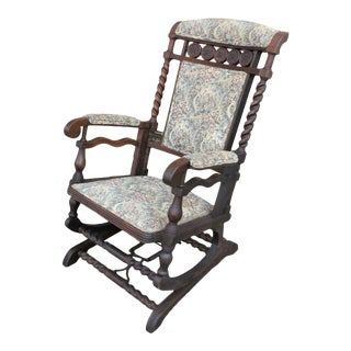 Antique George Hunzinger Platform Rocker For Sale