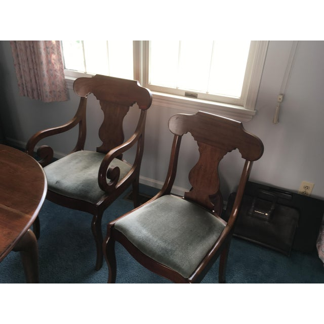 Pennsylvania House Dining Room Table With 4 Chairs - Image 6 of 8
