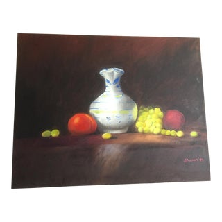 Still Life With Fruit' Painting For Sale
