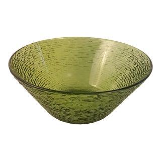 Anchor Hocking Glass Soreno Avocado Serving Bowl