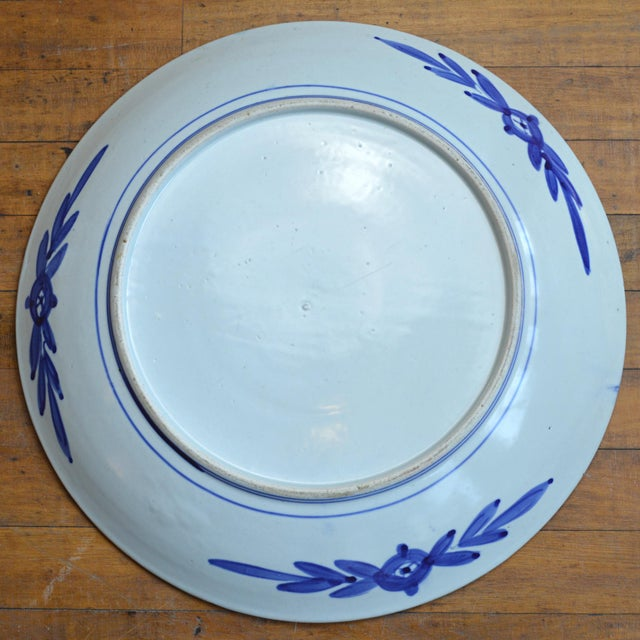 Ceramic 19th Century Paneled Japanese Imari Charger For Sale - Image 7 of 10