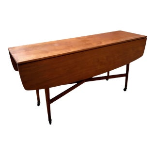 Mid-Century Modern Drexel Drop Leaf Table For Sale