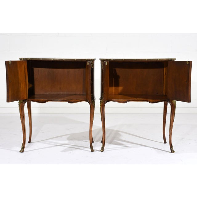 French Louis XVI-Style Commodes - A Pair - Image 9 of 10