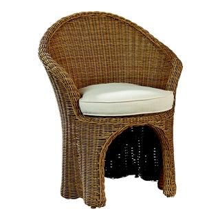 Celerie Kemble - Crespi Wave Outdoor Barrel Dining Chair