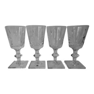 Hawkes Crystal Stemware - Set of 4 For Sale