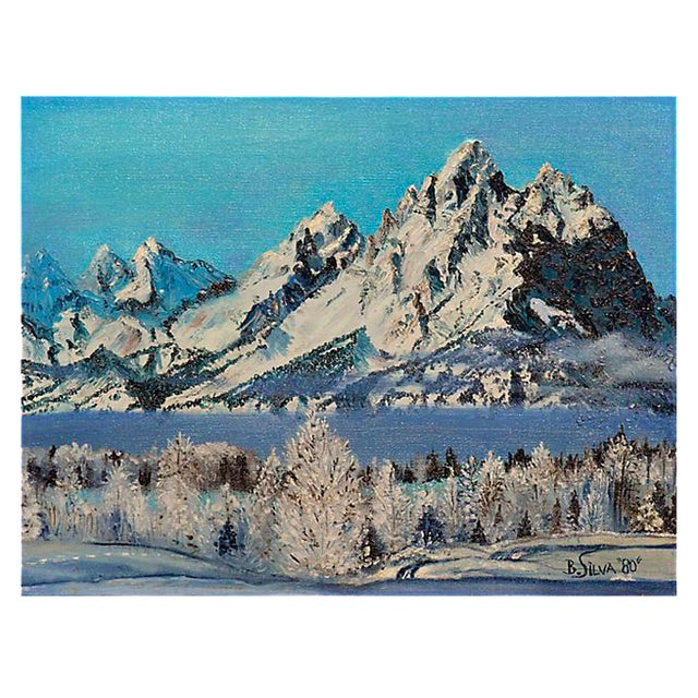 Snowy Rugged Peaks For Sale
