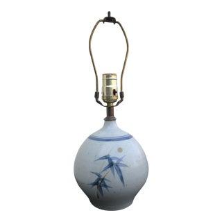 Vintage Ceramic Table Lamp For Sale