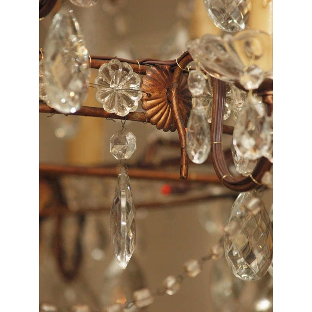 Italian 18 Lite Crystal Tiered Chandelier For Sale In New Orleans - Image 6 of 10