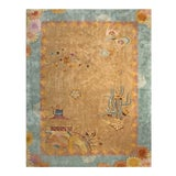 Image of Antique Chinese Art Deco Rug For Sale