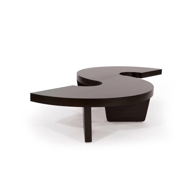 Mid-Century Modern Mahogany Harvey Probber Nucleus Coffee Table, 1952 For Sale - Image 3 of 10