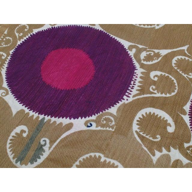Samarkand Suzani For Sale - Image 4 of 7