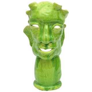 Jean Cocteau-Inspired Artisan Sculpture For Sale