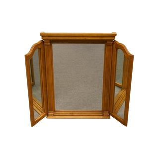 American Drew Country French Tri-Fold Mirror For Sale
