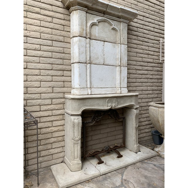 Modern Dennis and Leen Fireplace Mantel For Sale - Image 10 of 12