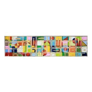 """Abstract Original Artwork """"Symbols 15_12"""" by Petra Ros-Nickel For Sale"""