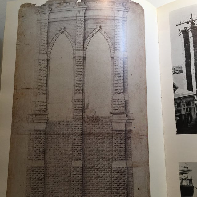Blue 1883-1983 The Great East River Bridge Book For Sale - Image 8 of 11