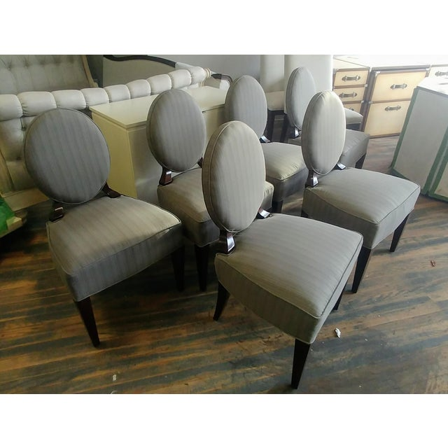 Henredon Furniture Barbara Barry Oval Back Side Chair Set(6) - additional are available should you be interested Sale...