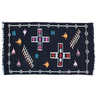 Moroccan Cactus Silk Rug - 5'1'' X 3' For Sale