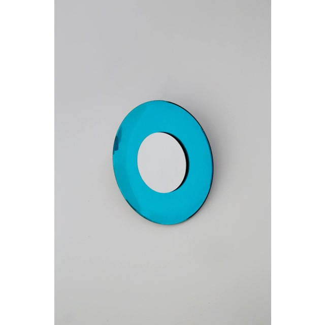 Scenographic wall mirror of contemporary manufacture made by Effetto Vetro in 2010. In Style Fontana Arte. They are...