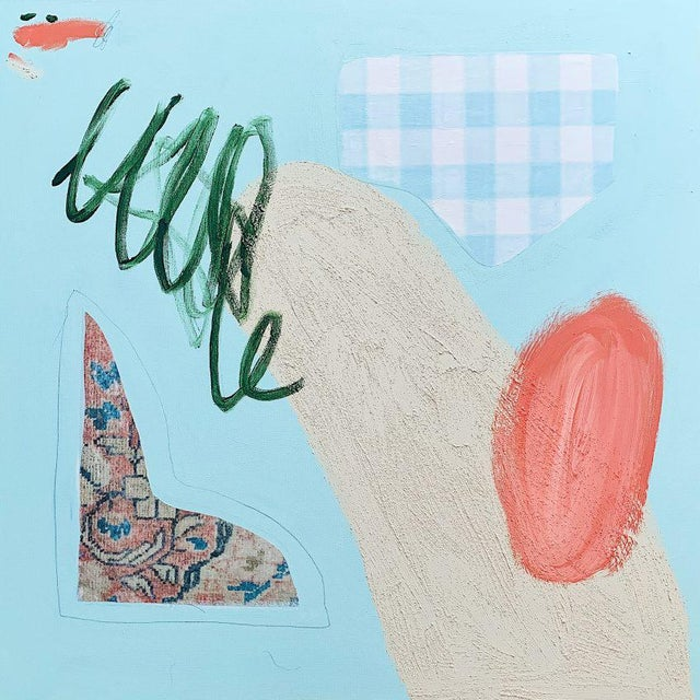 Contemporary Kathleen Jones Painting, Coastal Picnic For Sale