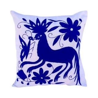 Hand-Woven Tenango Decor Pillow