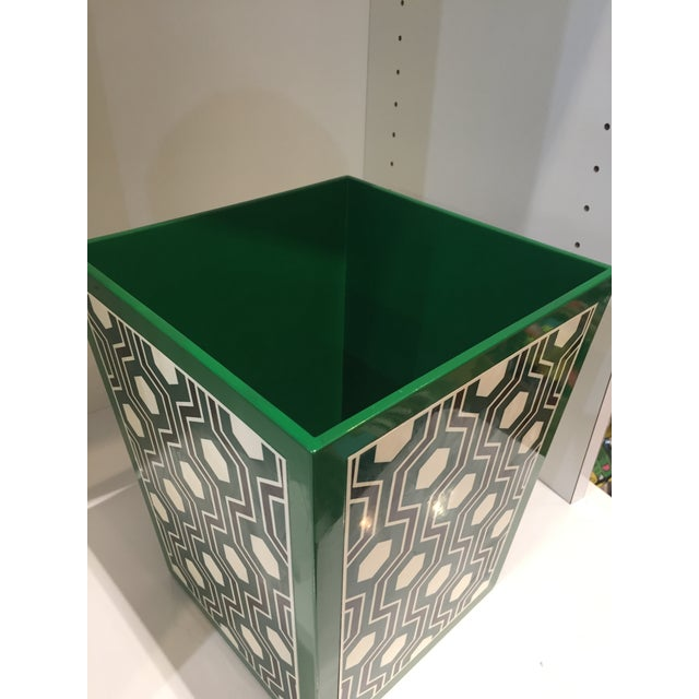 Bungalow 5 Bungalow 5 Sasoon Waste Basket For Sale - Image 4 of 5