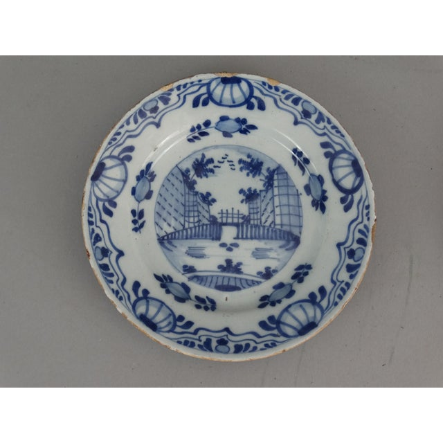 Antique Dutch Delft Chinoiserie Plates- A Pair - Image 3 of 7